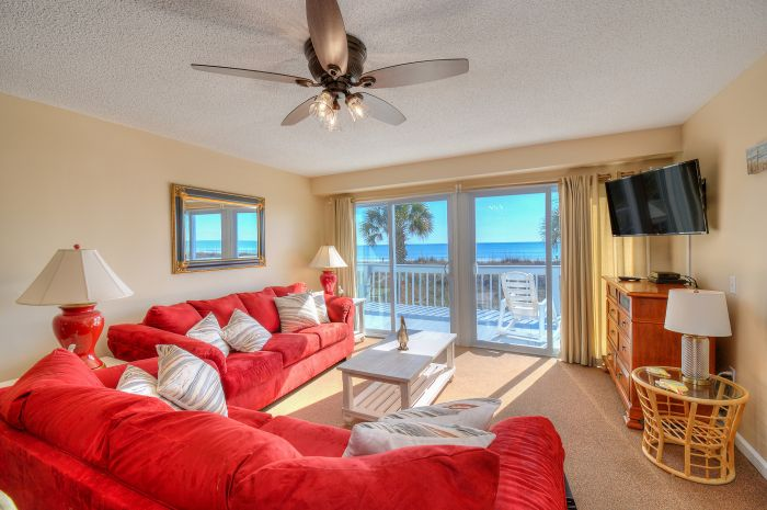 A Pink Paradise Cherry Grove Oceanfront Pet Friendly Vacation House Elliott Beach Rentals