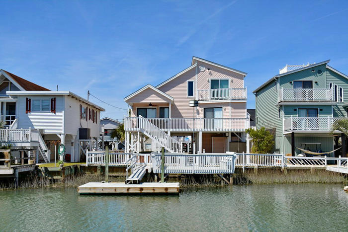 The Tides That Bind Cherry Grove Channel Vacation House Elliott