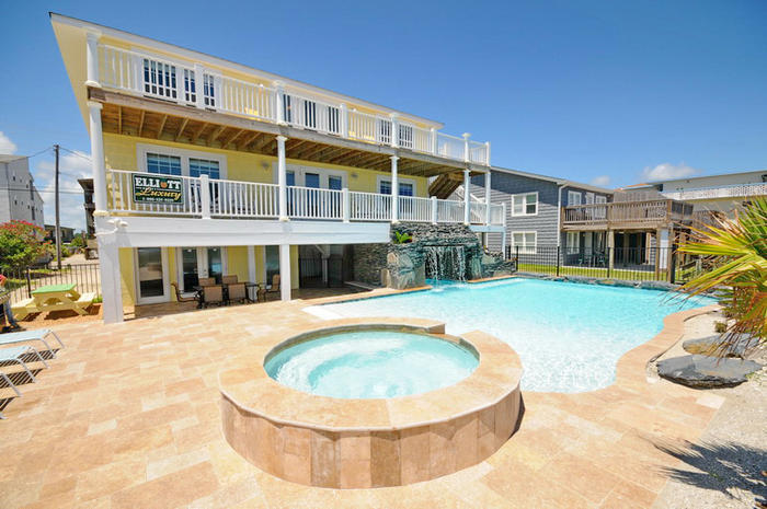 turtle s nest cherry grove oceanfront vacation house